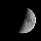 First 1/4 Moon by jskouros