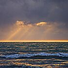 Rays Over The Ocean by TomRaven