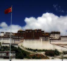 Potala palace by DareImagesArt