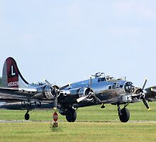 B-17 by Steven Squizzero