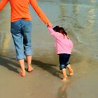 First walk on the beach! by serendipity3
