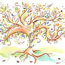 Tree of life / An animation for the Fanconi Anemia Research Fund  by Carole Felmy