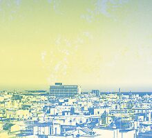 Rooftop, Barcelona by Ameeee