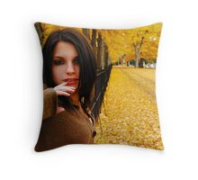 Between the gates of heaven Throw Pillow