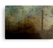 The Skies Grew Darker (It Made Our Hearts Seem Lighter) Metal Print