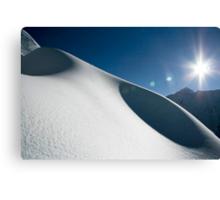 Snow Dunes Canvas Print