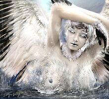 as she bathes by navybrat
