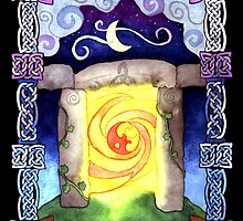 Celtic Doorway by foxvox