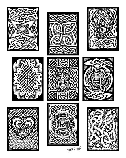 Celtic Tarot Spread by foxvox