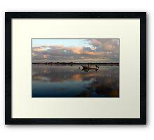 Boat @ Malahide Marina Framed Print