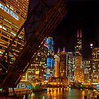 Chicago at night by carlina999