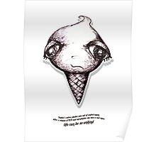 Little Profiles Queunliskanphobia (Saliva Phobia) Poster