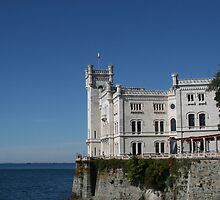 The Castle of Miramare - Trieste, Italy by sstarlightss