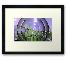 Lost in the sea of everything  Framed Print