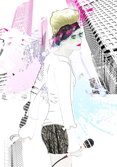 Shinjuku Karaoke by Tiffany Atkin