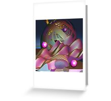 The Moon landing Greeting Card