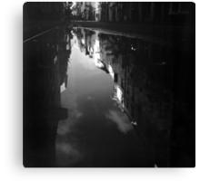 Cook Street Under Water Canvas Print