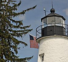 Concord Lighthouse  by Monte Morton