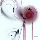 Red Eyes, Red Wine, Discarded Hearts or Love Is...Lost by Vanessa Barklay