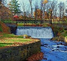 Fall In Blairstown, New Jersey by Lanis Rossi