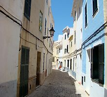 Street in Ciutadella, Menorca by Kaleidoking