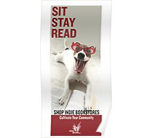 Sit Stay Read Poster