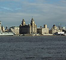 Liverpool Skyline Panoramic by est1979