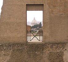 View Through Italian Ruins by Katie Catano