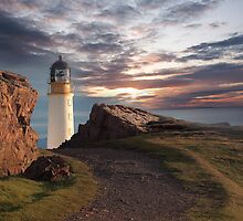 Rua Reidh Lighthouse, Wester Ross, Scotland by Martin Slowey