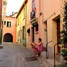 Ordinary Day in Collioure by HELUA
