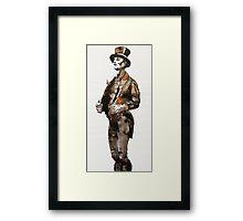 Top Coat Man Framed Print