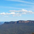 Megalong Valley panorama by splitsie