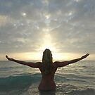 Sea, Sun, and Spirit, a Photograph by Chris Maher #4008 by Chris Maher