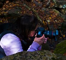 The Photographer in Action Two by ericseyes