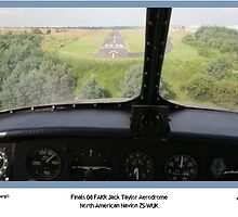 On Finals - ZS-WUK lands by Paul Lindenberg