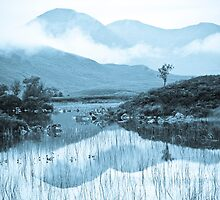 Rannoch Moor and cloudscape by wildscape