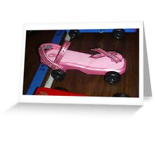 Racing for a cure Greeting Card