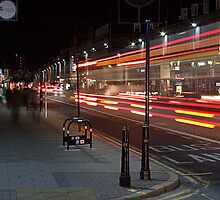 Night Bus by Martin Slowey