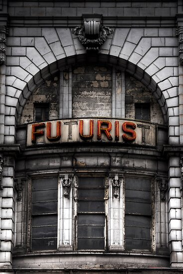 The Future is Now, Forget the Past, Liverpool by Robin Whalley