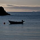 Foula from Spiggie Beach by ShroomIllusions