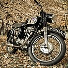 1958 Matchless Motorcycle by (Tallow) Dave  Van de Laar