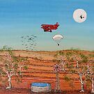 Snoopy and the Red Baron; Original Acrylic Painting Australia;Recent Achievements! This painting has been Published in the Australian Artist's Palette Magazine 21/Jan/2010  by EJCairns