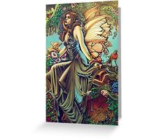 Titania and Puck Greeting Card