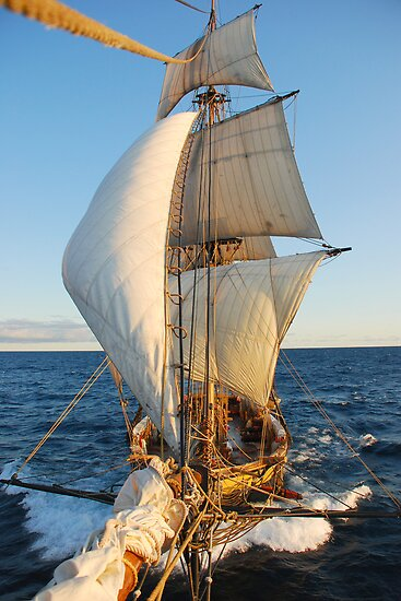 "The Brig Niagara  ""10 knots!"" by mattmaples"