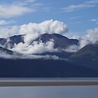 Clouds Turnagain Arm Alaska by Melva Vivian