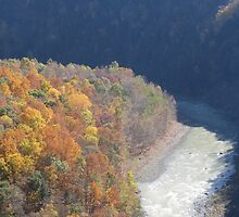 Fall Unto Me - Letchworth State Park by ksuzan