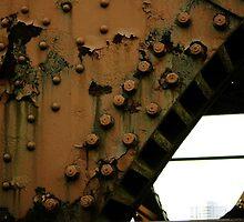 Riverwalk Bridge Chicago River - Downtown Chicago by Daniel  Oyvetsky