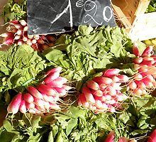 Radishes by MsGourmet
