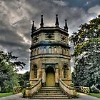 Gothic Style Folly. by Sue Smith