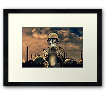 Climate Shooter Framed Print